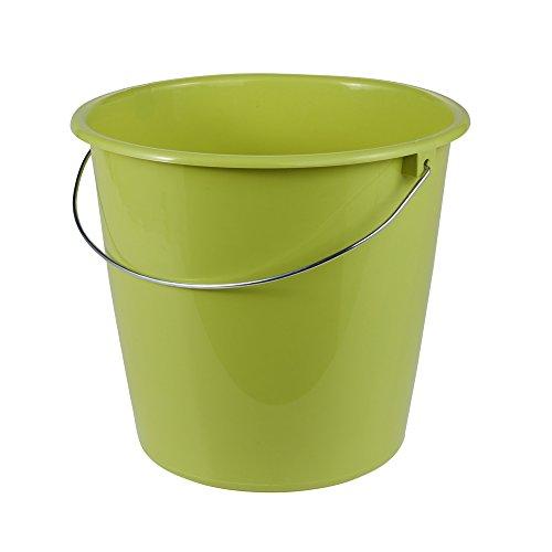 Preisvergleich Produktbild keeeper Eimer 10 l mit Metallbügel,  Polypropylen,  Grün