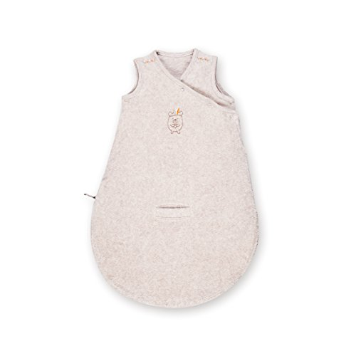 Bemini by Baby Boum 142APAWI88TM Schlafsack Frottee APAWI jerry 0-3 m ,Beige