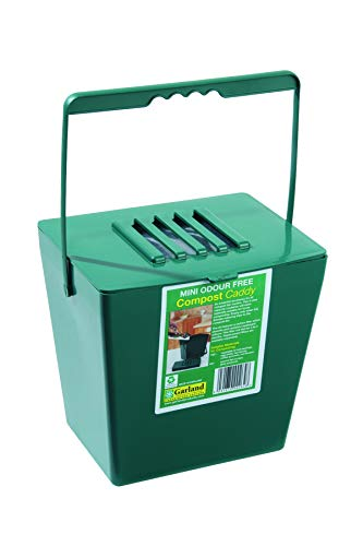 Tierra Garden GP118 Odor-Free Compost Caddy, Mini