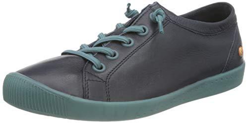 Softinos Damen ISLAII557SOF Sneaker, Navy, 37 EU