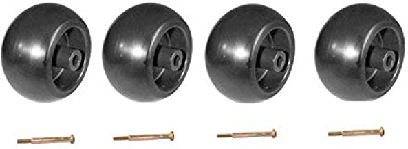 NEW CRAFTSMAN RIDING MOWER DECK WHEELS & BOLTS 4 PACK # 133957 / 174873 & 193406