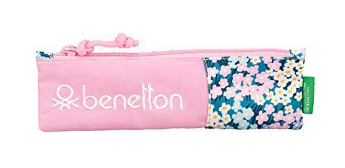 """Benetton """"Garden"""" Oficial Estuche Escolar 200x60mm"""