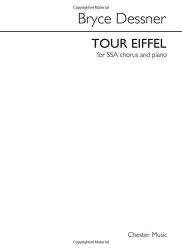 TOUR EIFFEL: for SSA chorus and piano