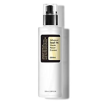 COSRX Advanced Snail 96 Mucin Power Essence 3.38 fl.oz / 100ml   Snail Secretion Filtrate 96%   Skin Repair Serum   Korean Skin Care Cruelty Free Paraben Free Alcohol Free