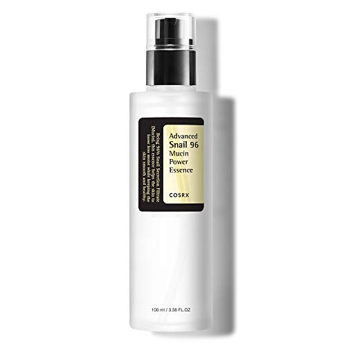 COSRX Advanced Snail 96 Mucin Power Essence 3.38 fl.oz / 100ml | Snail Secretion Filtrate 96% | Skin Repair Serum | Korean Skin Care, Cruelty Free, Paraben Free, Alcohol Free