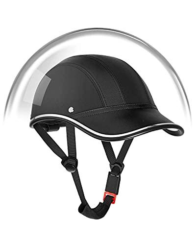 kemimoto Bike Helmet, Adults Cycling Bicycle Baseball Helmet - Black…