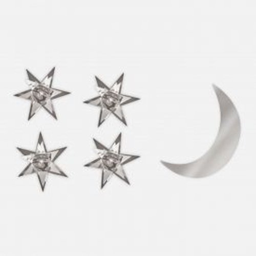 Komar MA0406 Brewster Star Moon Mirror A