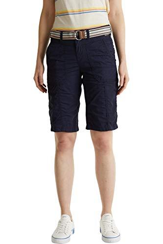 Esprit 030EE1C310 Shorts, Damen, Blau 38 EU