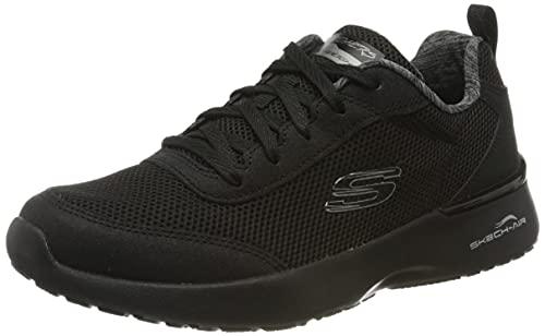 Skechers Skech-Air Dynamight-Fast Brak, Zapatillas Mujer, Negro (Black Mesh/Black Trim BBK), 39 EU