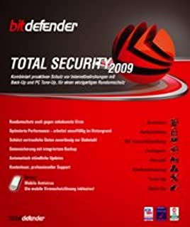 BitDefender Total Security 2009 3 User