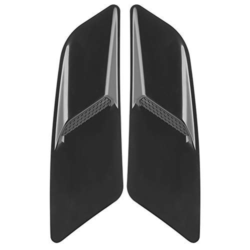 Terisass Cubierta de Entrada de Flujo de Aire de ventilación de capó Delantero de Coche Ajuste Decorativo del Panel Frontal del Coche para Fo-rd Mustang 2015-2017