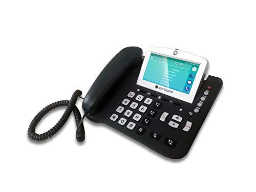 COCOMM F840 - Teléfono móvil Fijo 4G LTE (microSDHC, Ranura gsm, 854 x 480 Pixeles, IPS, RAM 1 GB, Android)
