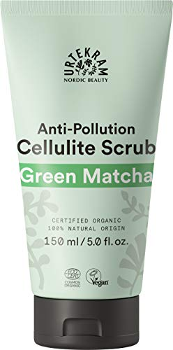 Anti-Cellulite-Peeling mit grünem Matcha BIO 150 ml Urtekram