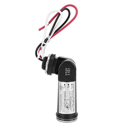 Fdit lichtsensor, besturingsschakelaar, buitenverlichting met bedrade lichtkastsensor met lichtsensor, schakelt lichtsensor van schemering naar zonsopgang