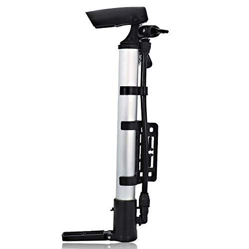 Patabit Inflador de bicicleta | Bomba para bicicleta portátil | Accesorios bicicleta MTB | Mini bomba para bicicleta, balón, colchón hinchable para todos los tipos de válvula
