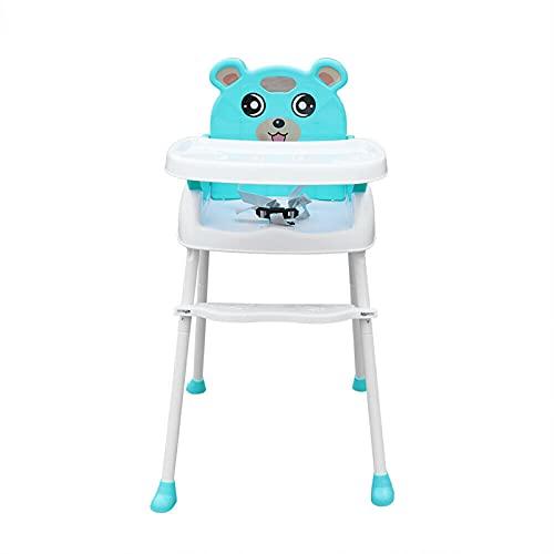Fetcoi Babyhochstuhl Kinderstuhl mit Tisch Babystuhl mit Sicherheitsgurt-mobil dankabnehmbarer Beine Zusammenklappbar,...
