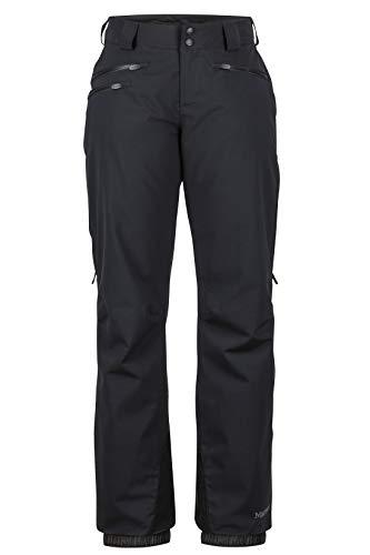 Marmot Damen Wm's Slopestar Pant Hardshell Ski- Und Snowboard Hose, Winddicht, Wasserdicht, Atmungsaktiv, Black, XS