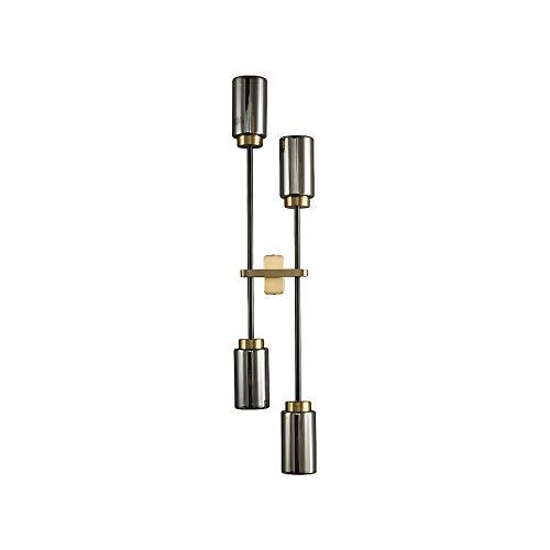 WZHZJ Lámpara de Pared posmoderna Sala de Estar Fondo Creativo lámpara de Pared Dormitorio lámpara de Noche Villa Club decoración lámparas