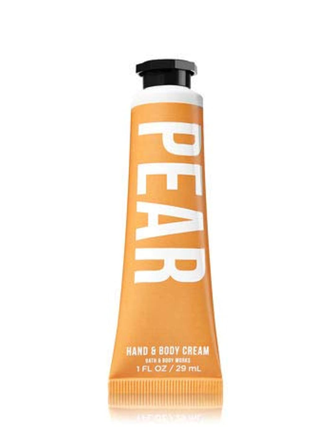 ごちそう新年フィラデルフィア【Bath&Body Works/バス&ボディワークス】 シアバター ハンド&ボディクリーム ペアー Shea Butter Hand & Body Cream Pear 1 fl oz / 29 mL [並行輸入品]