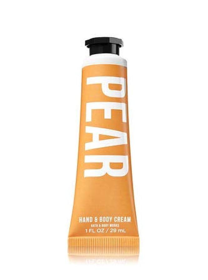 音楽抜け目のない懐【Bath&Body Works/バス&ボディワークス】 シアバター ハンド&ボディクリーム ペアー Shea Butter Hand & Body Cream Pear 1 fl oz / 29 mL [並行輸入品]
