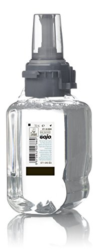 GOJO 8711-04-EEU00 Mousse Ultra Douce Non Parfumée pour le Lavage des Mains Recharge, ADX-7, 700 ml (Pack of 4)