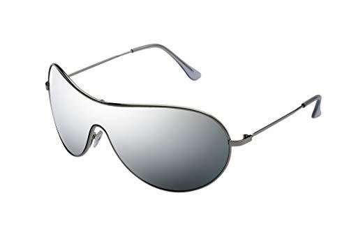 Alpland Pilotenbrille SILBER voll verspiegelt silber