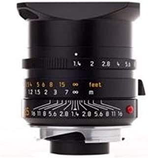 Leica 35mm f/1.4 Summilux-M Aspherical Wide Angle Manual Focus Lens with Floating Element for M System, (Demo in Brand New Condition With 1 Year Warrenty