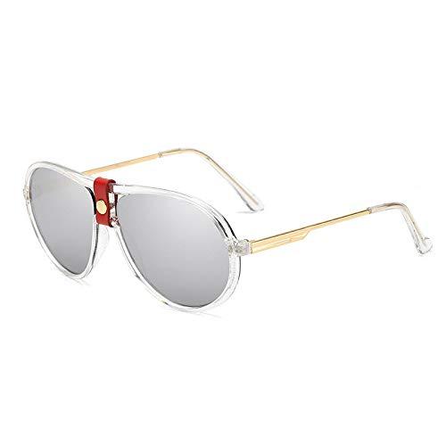 NJJX Gafas De Sol De Moda Mujeres Hombres Gafas De Sol Vintage Gafas De Sol Sombras 06