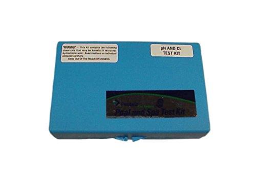 Pentair R151076 Rainbow 752 2 In 1 pH and Chlorine Test Kit