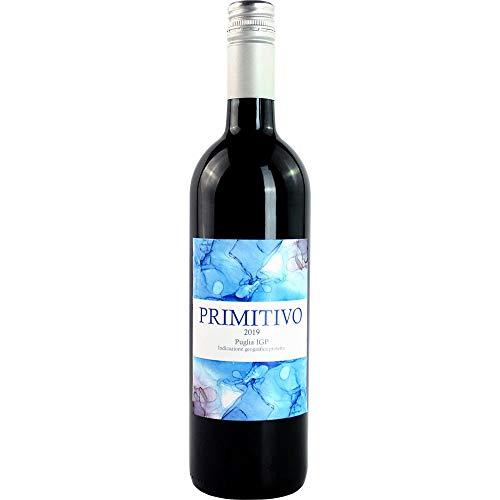 Primitivo 2019 Puglia IGP Rotwein Vegan trocken Cantina Diomede - Edition BARRIQUE Apulien Italien 750ml-Fl