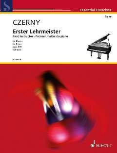 ERSTER LEHRMEISTER OP 599 - arrangiert für Klavier [Noten / Sheetmusic] Komponist: CZERNY CARL
