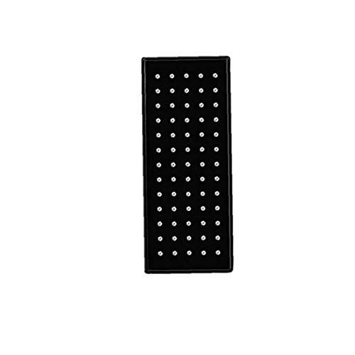 Odoukey Nariz Pendientes Acero Fino Stud perforación del Cuerpo con Incrustaciones de circonio cúbico Pendientes de Plata 60pc