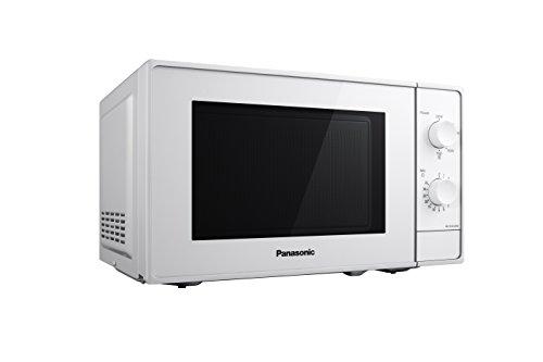 Panasonic Four Micro-Ondes Solo Compact NN-E20JWMEPG, 20 litres, Puissance 800 W, Plateau tournant...