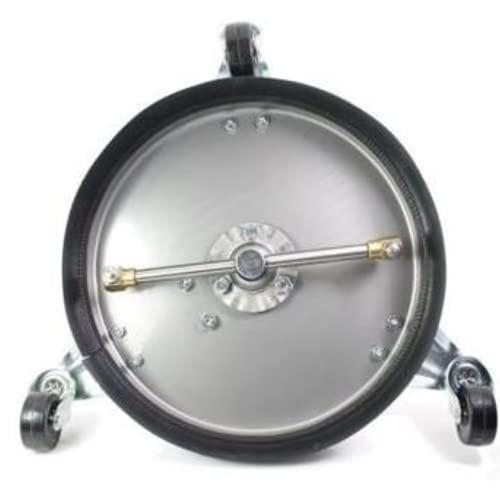 Contralmo CFR300 Profi Edelstahl Flächenreiniger | Pressure Washer | 150 Bar | mobiler Reinigung | Terassenreiniger | Steinreiniger | Betonreiniger | Universal-Reiniger | DIE Putzmaschine - 4