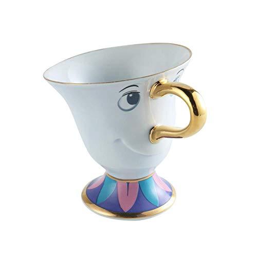 TOSISZ Cartoon Beauty and the Beast Theepot Cup Mrs Clock Creatief kerstcadeau