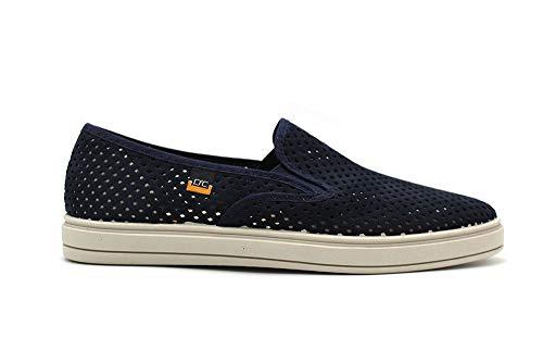 DOCTOR CUTILLAS - Zapatillas caladas Azul Marino, Alpargata sin Cordones, Suela de Goma, para: Hombre Color: Marino Talla:42