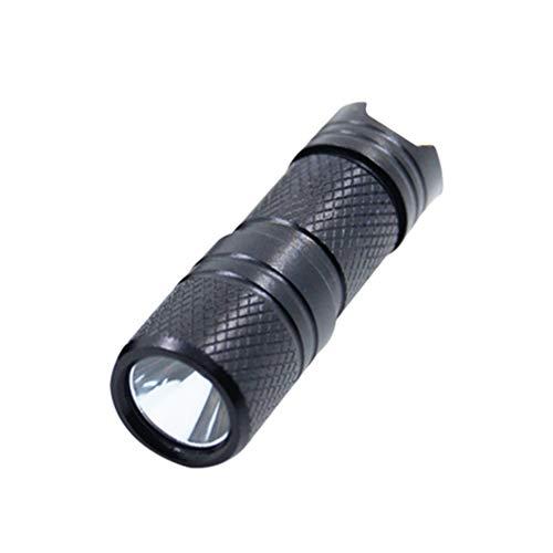 Mini lanterna chaveiro recarregável OSALADI lanterna tática LED pequena brilho para acampamento, caminhada, emergência (cor aleatória)