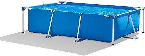 FANCHI Rechteckiger Rahmen Pool Sommer Party Pool eine große Familie von Frame Pool Erwachsene Kinder geeignet zur Qualitätssicherung 118x78x29.5 Zoll