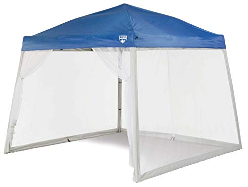 Quest 10 Ft. X 10 Ft. Mesh Screen for Slant Leg Instant Ez up Pop up Recreational Canopy Tent (No Color)
