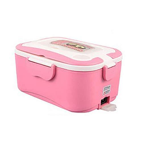 WXF 1.5L elektrische Lunchbox, 24V LKW Mini-Elektro-Lunchbox, 12V Auto elektronische Lunchbox, Edelstahl-Liner, Reiskocher Isolierung,12V