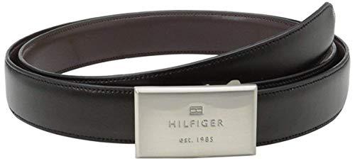 トミーヒルフィガー メンズ ベルト 11TL08X012 14 ブラック/ブラウン [並行輸入品]