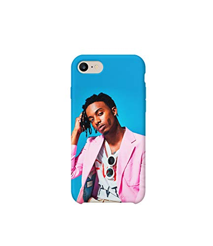 Cover protettiva in plastica rigida con foto di Rapper Playboi Carti Milly Rock compatibile con iPhone 6, 7, 8 Plus, XS, XR, regalo divertente per lui e lei iPhone 7 Plus