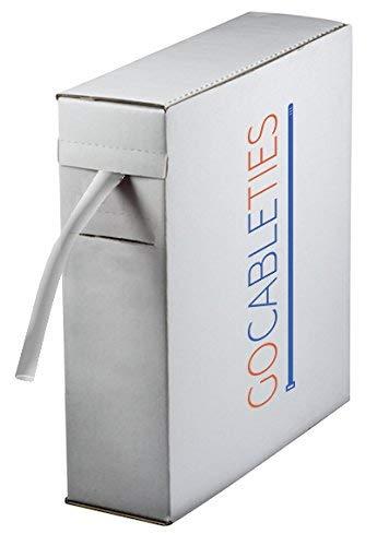 Premium Clear tubi termorestringenti mini bobin, 2.4 mm x 11 m, Rapporto 2: 1 - Cavo di alta qualità manicotti di Gocableties, trasparente