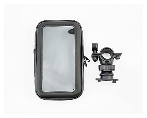 XIAOZHIWEN Bicycle Motorcycle Soporte Teléfono Soporte Teléfono para Bolsa de Soporte Moto Soporte de Bicicleta GPS Cubierta Impermeable para iPhone X 8 Plus Se S9 HNXZW (Color : XL)