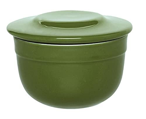 Emile Henry HR Modern Classics Butter Pot, Green