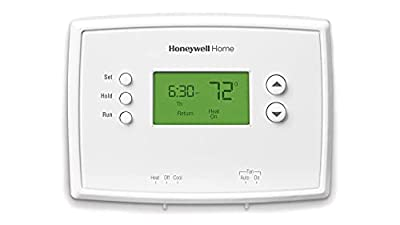 Honeywell Home RTH221B1039 RTH221B Programmable Thermostat, White