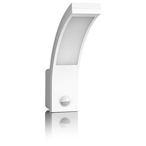 SEBSON Lampada da Parete Esterno con Sensore di Movimento, Bianco, 15W, 1000lm, Bianco Freddo 5800K, IP54