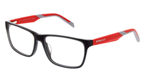 New Tag Heuer B Urban Eyeglasses - 0552 004 - Grey/Red (57-16-145)