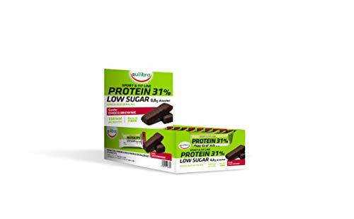 Equilibra Protein 31% Low Sugar Choco Brownie, 24 x 35g