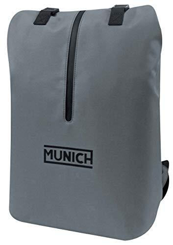 Munich Tech/Business Mochila Tipo Casual, 55 cm, 26 litros, Gris
